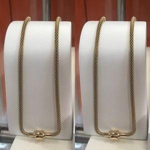 Bering Woman's Gold-plated necklace